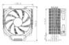 Устройство охлаждения(кулер) DEEPCOOL GAMMAXX 400,  120мм, Ret вид 17