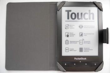 Чехол BELKIN F7P055bqC00, черный, для Pocketbook Touch 622