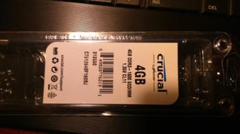 Модуль памяти CRUCIAL CT51264BF160B(J) DDR3L— 4Гб 1600, SO-DIMM, Ret
