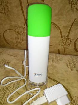 Массажер OREGON SCIENTIFIC WS906, белый, зеленый