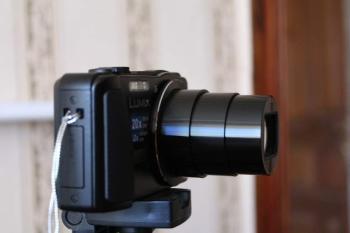 Цифровой фотоаппарат PANASONIC Lumix DMC-TZ35, черный