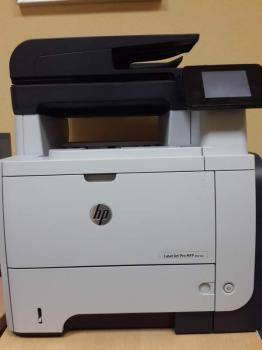 МФУ лазерный HPLaserJet Pro M521dn, A4, лазерный, черный [a8p79a]