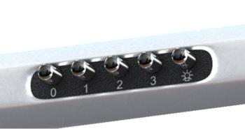 Вытяжка козырьковая Shindo Metida 60 нержавеющая сталь управление: кнопочное (1 мотор)