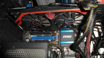 Видеокарта MSI nVidia GeForce GTX 760 , N760TF2GD5/OC, 2Гб, GDDR5, OC, Ret