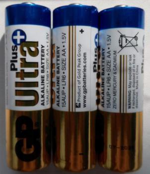 AA Батарейка GPUltra Plus 15AUPTB2-CR6Turbo, 6 шт.