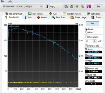 Жесткий диск SEAGATE Desktop SSHD ST1000DX001, 1Тб, гибридный HDD/SSD, SATA III, 3.5