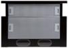 Вытяжка встраиваемая Elikor Интегра 50П-400-В2Л черный управление: кнопочное (1 мотор) вид 4