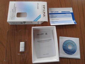 Сетевой адаптер WiFi TP-LINK TL-WN723N USB 2.0