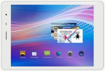 Планшет EXPLAY sQuad, 1GB, 16GB, 3G, Android 4.1 белый [4071676]