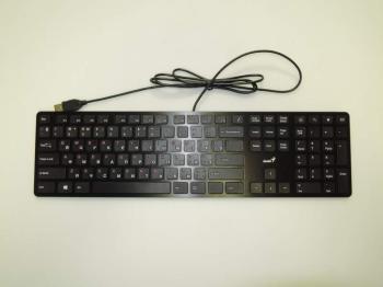 Клавиатура GENIUS SlimStar i280, USB, черный [31310464101]