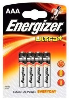 Батарея Energizer Ultra Plus LR03/FSB4AAA (4шт)