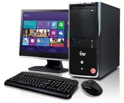 Компьютер IRU Home 550, Intel Core i53330, 8Гб, 1Тб, GeForce GTX 650— 1024 Мб, DVD-RW, CR, Free DOS