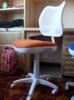 Кресло БЮРОКРАТ CH-W797, на колесиках, оранжевый [ch-w797/wh/tw-96-1] вид 8