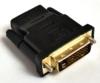 Переходник BURO HDMI (f) -  DVI-D (m),  GOLD ,  черный [hdmi-19fdvid-m_adpt] вид 10