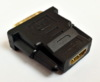 Переходник BURO HDMI (f) -  DVI-D (m),  GOLD ,  черный [hdmi-19fdvid-m_adpt] вид 9