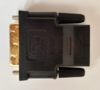 Переходник HDMI BURO DVI-D(m) -  HDMI19 (f),  GOLD [hdmi-19fdvid-m_adpt] вид 8