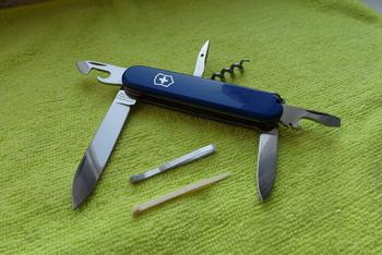 Складной нож VICTORINOX Spartan, 12 функций, 91мм, синий [1.3603.2]