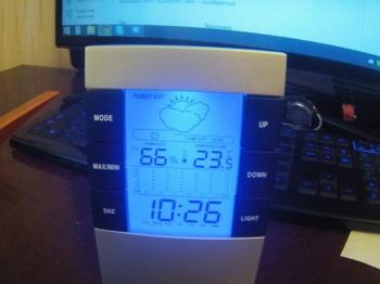 Термометр HAMA TH-200H-87682, серебристый [00087682]