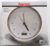 Настенные часы HAMA Bathroom H-113914, аналоговые,  серебристый вид 5