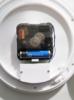 Настенные часы HAMA Bathroom H-113914, аналоговые,  серебристый вид 3