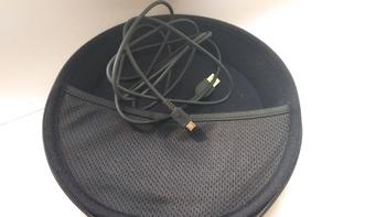 Гарнитура ASUS HS-W1, для компьютера, накладные, радио, черный [90-yahi6130-ua00]