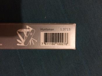 Складной нож VICTORINOX Huntsman, 15 функций, 91мм, красный [1.3713]