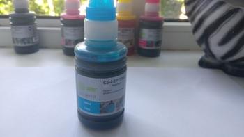 Чернила CACTUS CS-I-EPT0802, для Epson, 100мл, голубой
