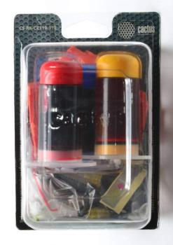 Заправочный комплект CACTUS CS-RK-CZ110-112, для HP, 90мл, многоцветный