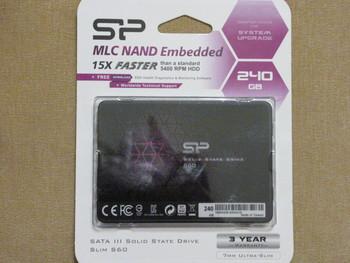 SSD накопитель SILICON POWER S60SP240GBSS3S60S25 240Гб, 2.5, SATA III