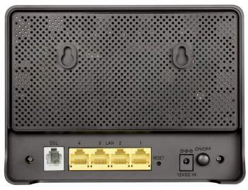 Модем D-LINK DSL-2640U/RA/U1A xDSL, внешний, черный