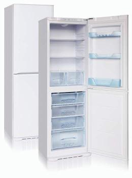 Холодильник БИРЮСА 131LE, двухкамерный, белый