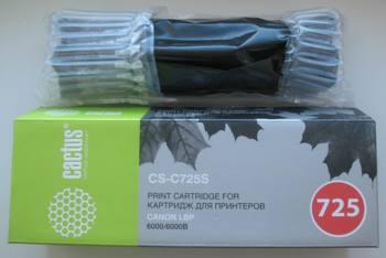 Картридж CACTUS CS-C725S черный