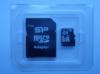 Карта памяти microSDHC UHS-I SILICON POWER 32 ГБ, 40 МБ/с, Class 10, SP032GBSTHBU1V10SP,  1 шт., переходник SD вид 4