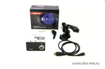 Видеорегистратор SHO-ME HD29-LCD, черный