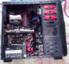 Корпус ATX ACCORD R-03B, Midi-Tower, без БП,  черный и красный вид 28