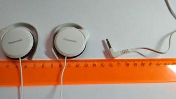 Наушники PANASONIC RP-HS46E, 3.5 мм, накладные, белый [rp-hs46e-w]