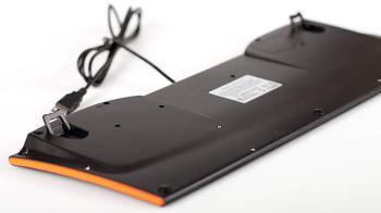 Клавиатура OKLICK 420M, USB, черный