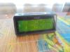 Радиобудильник ROLSEN CR-142, зеленая подсветка,  черный вид 2