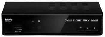 Ресивер DVB-T2BBK SMP242HDT2, темно-серый