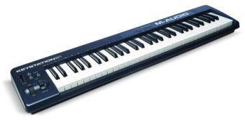Клавиатура MIDI M-Audio Keystation 61II клав.:61 корпус:пластик темно-синий
