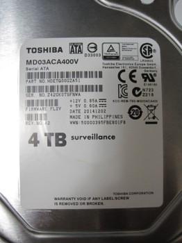 Жесткий диск TOSHIBA Surveillance MD03ACA400V, 4Тб, HDD, SATA III, 3.5