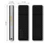 Флешка USB TRANSCEND Jetflash 780 256Гб, USB3.0, черный и серебристый [ts256gjf780] вид 2