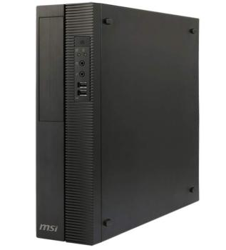 Компьютер MSI ProBox130 2M-014XRU, Intel Core i5 4460, DDR3 4Гб, 500Гб, Intel HD Graphics 4600, DVD-RW, noOS, черный [9s6-b08411-014]