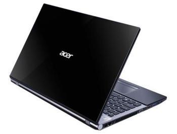 Ноутбук ACER Aspire V3-572G-52FH, 15.6, Intel Core i55200U 2.2ГГц, 8Гб, 1000Гб, nVidia GeForce 840M— 2048 Мб, DVD-RW, Windows 8.1, NX.MPYER.006, серебристый