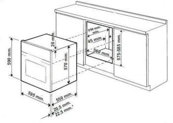 Духовой шкаф HOTPOINT-ARISTON FK1041LP.20X/HA(DS), бежевый