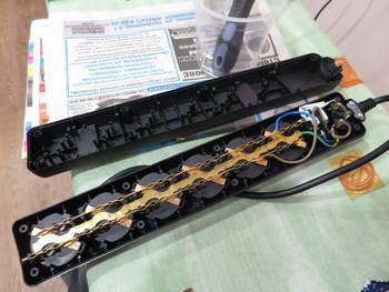 Сетевой фильтр BURO 600SH-1.8-B, 1.8м, черный
