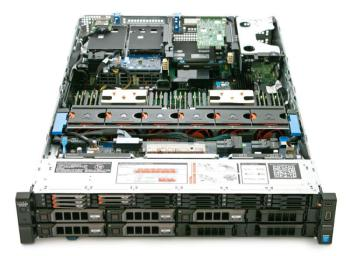 Сервер Dell PowerEdge R730XD 2xE5-2660v3 2×16Gb 2RRD x14 2×1Tb 7.2K 3.5 NLSAS H730p iD8En8GB 1G 4P