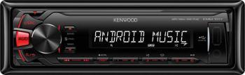 Автомагнитола KENWOOD KMM-101RY, USB